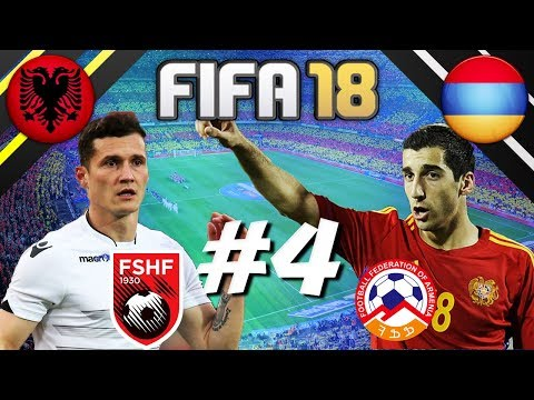 FIFA 18 - INTERNATIONAL ROULETTE #4 - ALBANIA VS ARMENIA