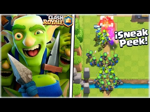 ¡¡ LA NUEVA PANDILLA DE DUENDES EN ACCION !! | SNEAK PEEK | Clash Royale [WithZack]