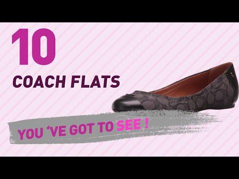 Coach Flats // New & Popular 2017