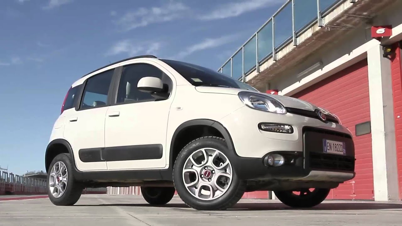 gente motori fiat panda 4x4 0 9 twinair turbo youtube. Black Bedroom Furniture Sets. Home Design Ideas