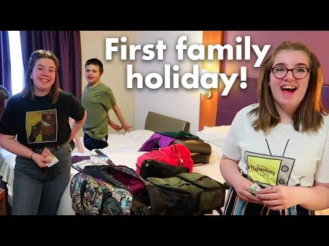Our First Family Holiday! | Disneyland Paris Vlog Travel Day
