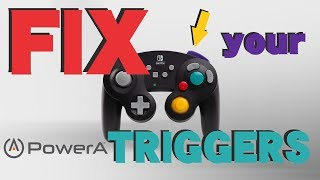 How to FIX your PowerA Wireless Gamecube Controller triggers