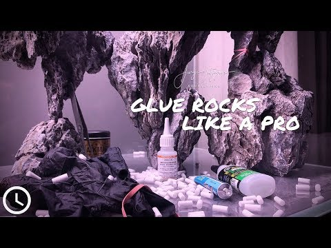 Glue Rocks Together With SuperGlue And Cigarette Filter In Seconds!