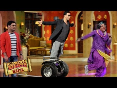 Akshay Kumar's HOLIDAY STUNTS on Comedy Nights with Kapil 31st May 2014 FULL EPISODE HD