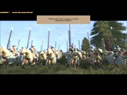 "Medieval 2 Total War online battle #148: ""Late Period Free For All"""