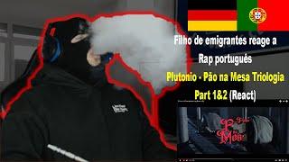 Plutonio - Pão na Mesa Triologia Part 1&2 (React) I Filho de Emigrantes reage a Rap português#60