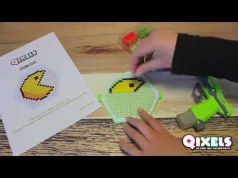 Learn how to craft a Qixels PAC-MAN and create your own 8-bit game!
