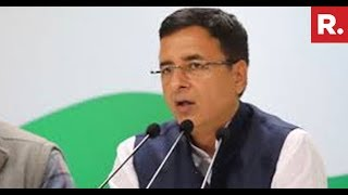 Congress' Randeep Surjewala Questioning Government On Rafale Verdict | #Rafale Debate