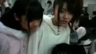 "March 9th, 2008 Still AKB members watching ""Pajama Drive"". Woo! Hi ..."