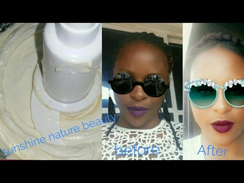 How To Make Halfcast Cream/ Skin Whitening Cream With Natural Ingredeints For Fairer Clear & Yonger