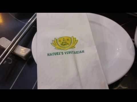 Nature's Vegetarian Restaurant in Kuala Lumpur, Malaysia Vegan Dim Sum