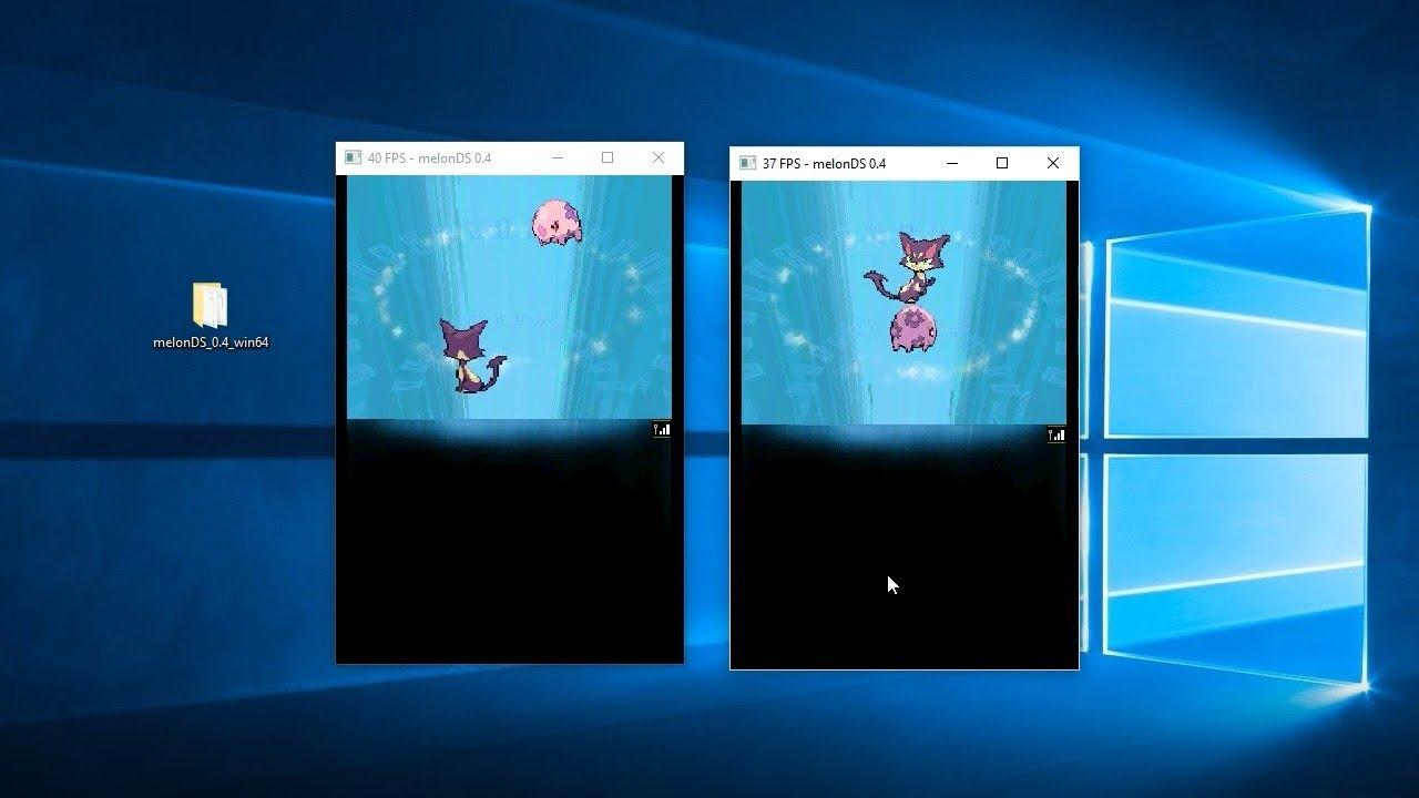 trade pokemon on ds emulator