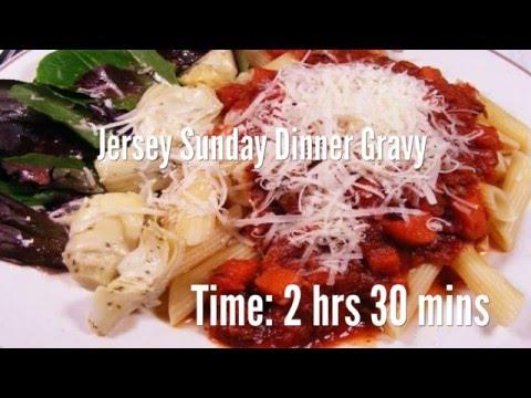 Jersey Sunday Dinner Gravy Recipe