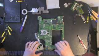 LENOVO B560 take apart video, disassemble, howto open (nothing left) disassembly disassembly