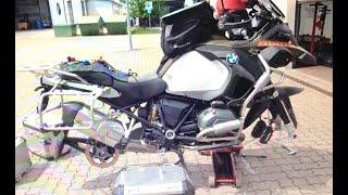 R 1200 GS Räder Aus- und Einbau - Remove and installation of the wheels