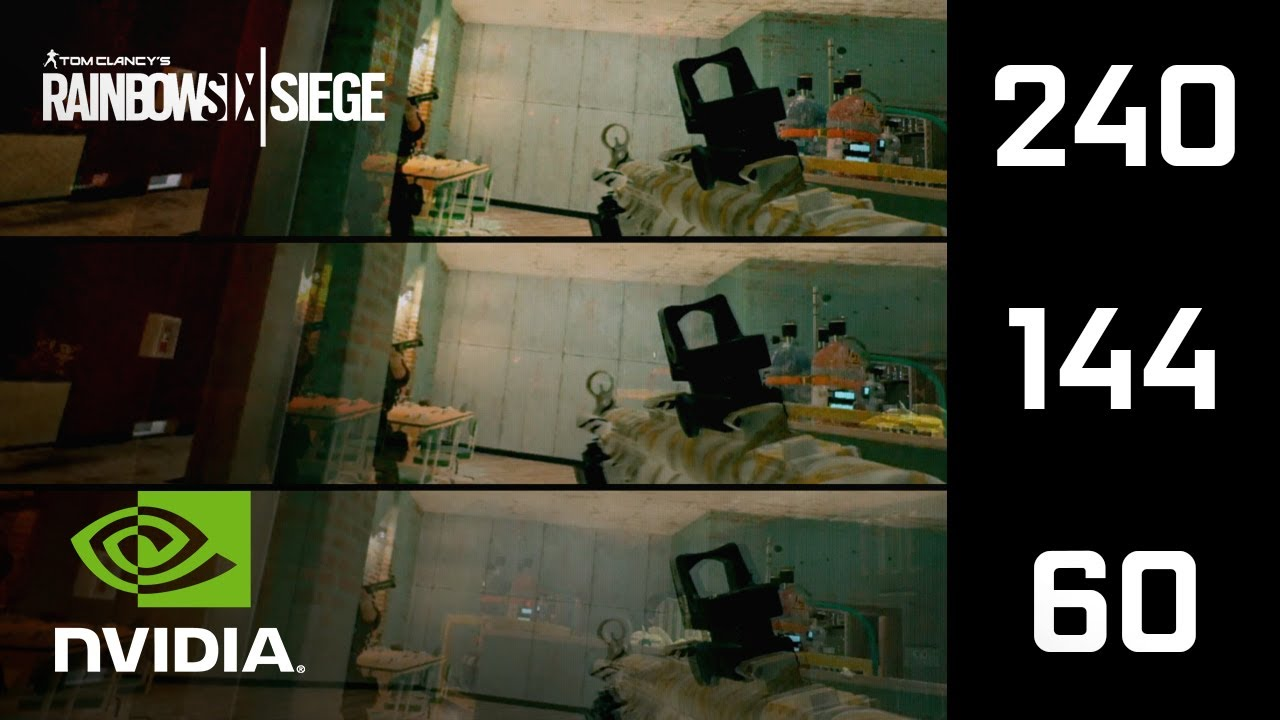 Высокий FPS на GeForce в Rainbow Six Siege | СЛОУ-МО Видео