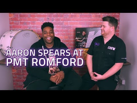 Nathan Meets Aaron Spears At PMT Romford