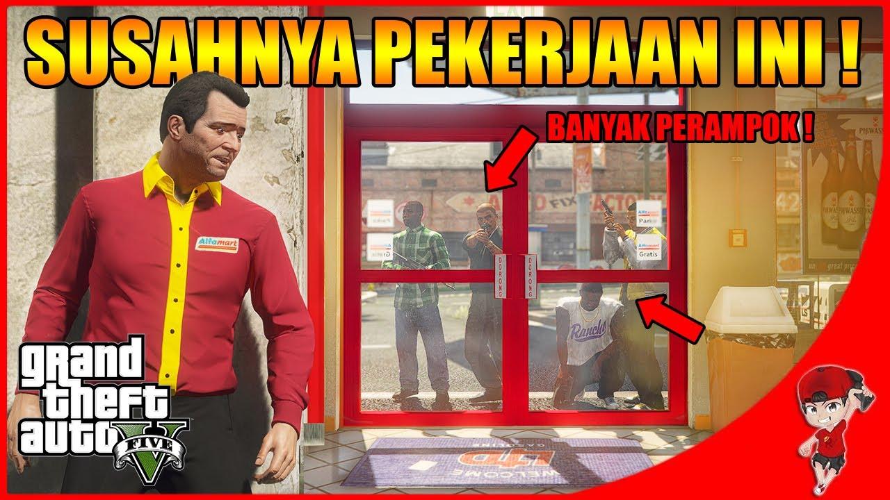 GTA V RASA INDONESIA (6) - GIMANA INI ! BARU KERJA DIRAMPOK TERUS !!