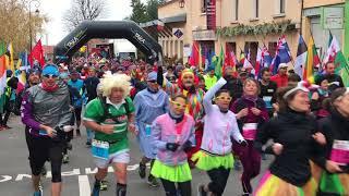 Marathon du Beaujolais : le départ de l'édition 2017 à Fleurie