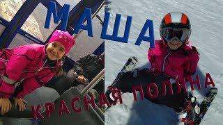 Встаем на лыжи 8 лет! Маша способный ученик!