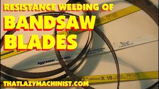 029 Bandsaw Blade Welding, Bandsaw 101 Marc Lecuyer