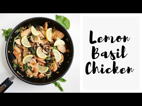Lemon Basil Chicken | Coach ZIN Doreen