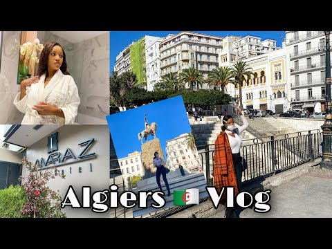 Algiers 🇩🇿 Vlog || Lamaraz Hotel room tour, Alger Centre + more........(الجزائر العاصمة ، الجزائر)