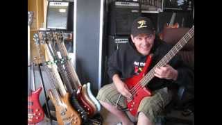 "Bass Lick Lesson #5  ""The Funky Bend""  Andy Irvine"