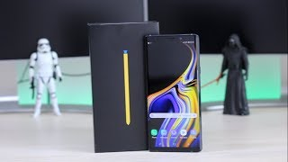 Samsung Galaxy Note 9 India Unboxing, Hands on, Camera, Features