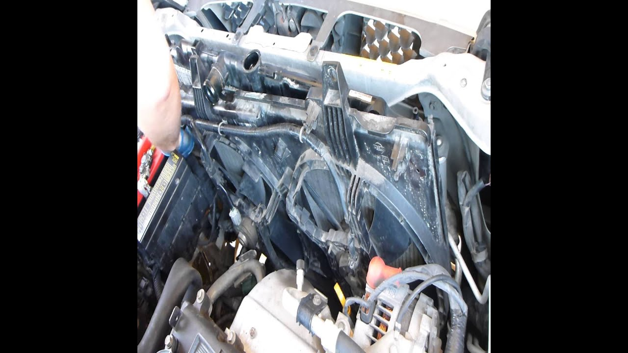 30 Nissan X Trail Radiator Replacement Youtube