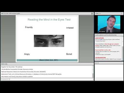 Mentalization and Trust: A New Understanding of Borderline Personality Disorder
