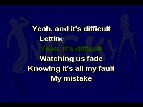 Miley Cyrus - Four Walls (Karaoke) On-Screen Lyrics