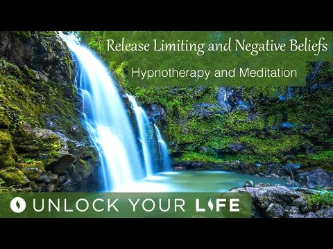 Release Limiting Beliefs & Subconscious Negativity (NEW) | Healing Waterfall Hypnosis (Meditation)