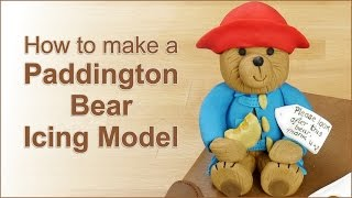 Paddington Bear Icing Model