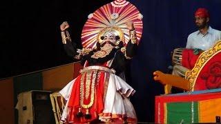Yakshagana -- Dhee shakthi - 1 - Hudugodu Chandrahasa as Trinetra
