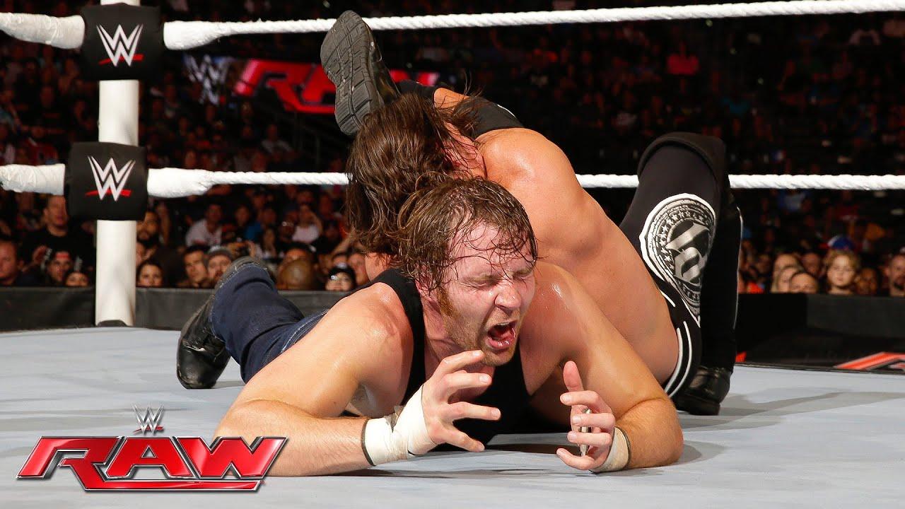 Download Dean Ambrose vs. AJ Styles: Raw, June 27, 2016