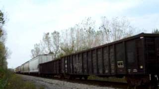 LSRC 801 heading for Bay City late Oct. 2010