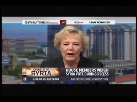 Rep Zoe Lofgren's Interview on Syria with MSNBC's Tamron Hall 9/16/2013