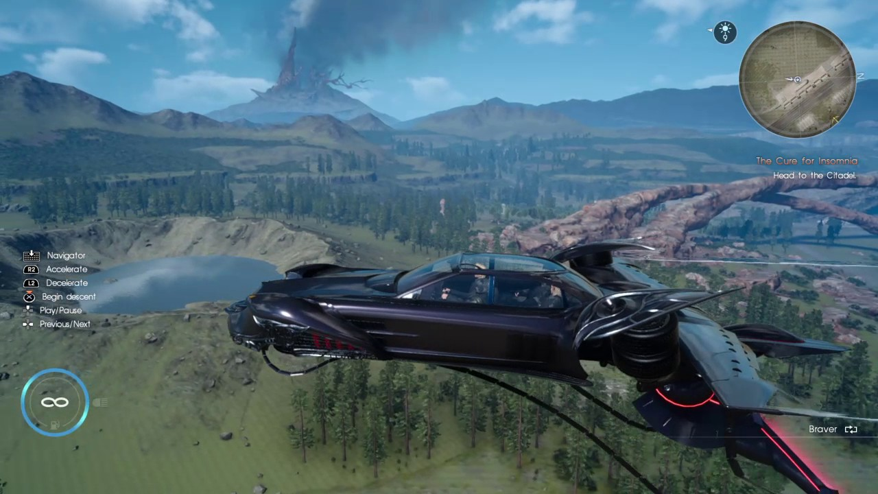 final fantasy 15 airship