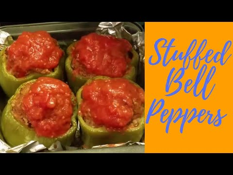 HOW TO MAKE CLASSIC STUFFED BELL PEPPERS