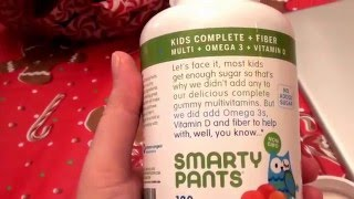 Smarty Pants Kids Fiber Complete Delicious Gummy Vitamins - 120 Count