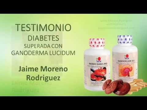 Testimonio Diabetes -  Ganoderma RG -Gl Panamá -  Jaime Moreno Rodriguez