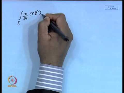Mod-05 Lec-05 Equation of Motion (Law of Conservation of Momentum)