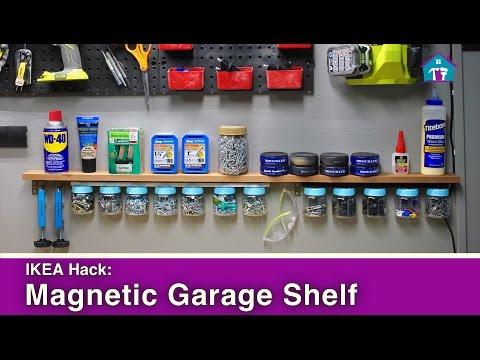 ikea-hack:-magnetic-garage-organization