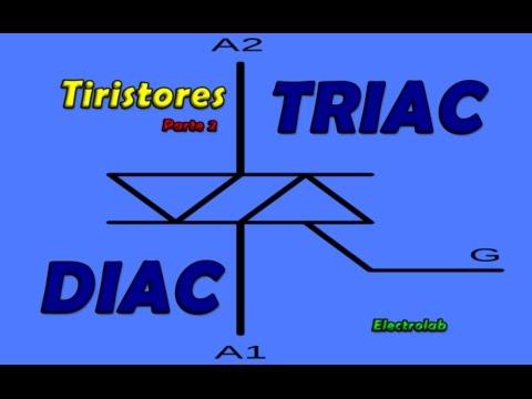 TRIAC e DIAC - Tiristores  - O que são e como funcionam! Parte 2