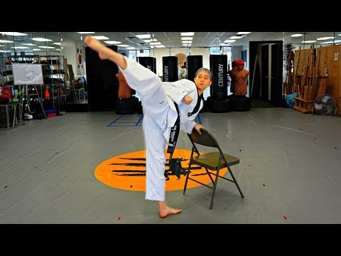 Tips To Improve Spin Hook Kick