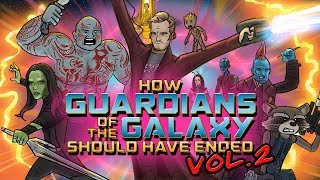 how guardians of the galaxy vol 2 should have ended