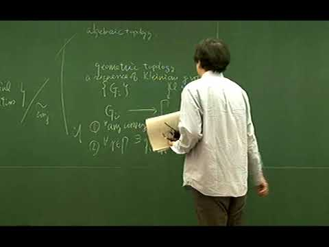 Kenich Ohshika (Osaka University)/ Deformation spaces of Kleinian groups: what we can see from...