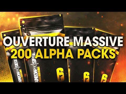OUVERTURE MASSIVE DE 200 ALPHA PACKS (FLEURISTE) !