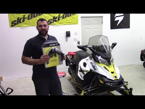 Ski Doo Auxiliary LED Light install by Raw Fuel TV
